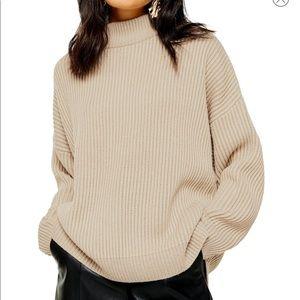 Mock Neck TopShop Sweater